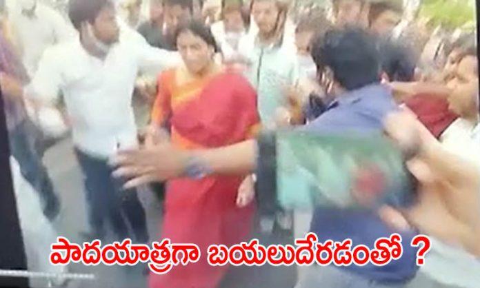 బ్రేకింగ్ : వైఎస్ షర్మిల   అరెస్ట్