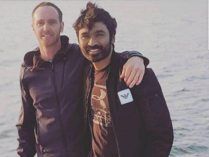Dhanush shooting for Netflix's The Gray Man at California
