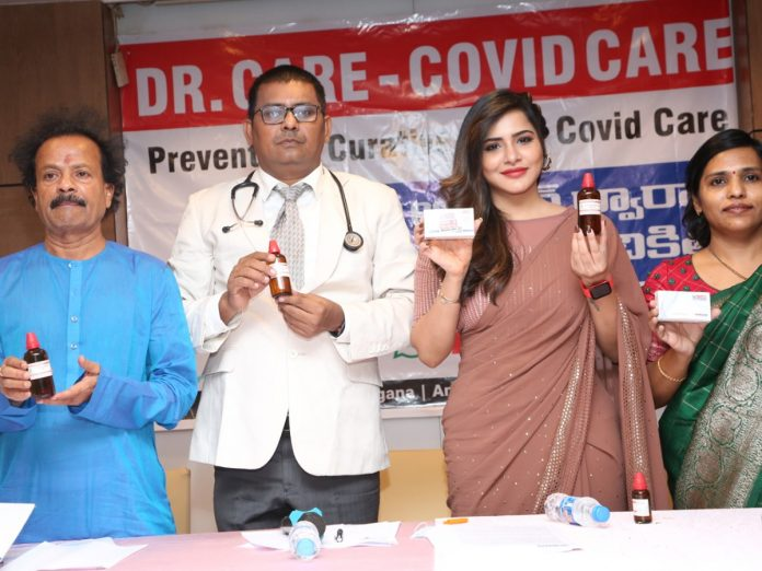 Doctor Care - Covid Care launched by Ashu Reddy