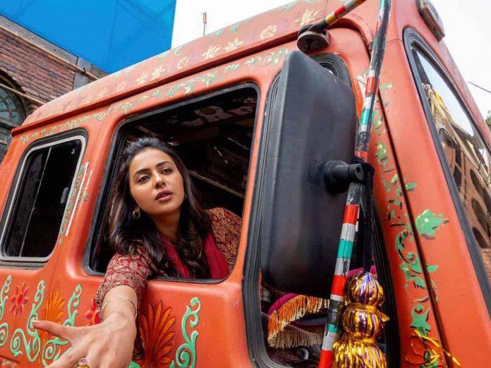Rakul Preet Singh Turns as Truck Driver