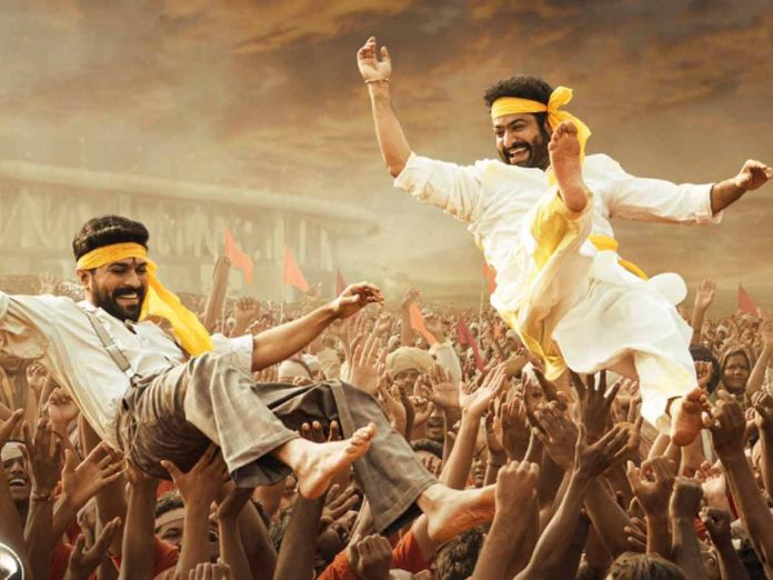 NTR and Charan's special song in RRR