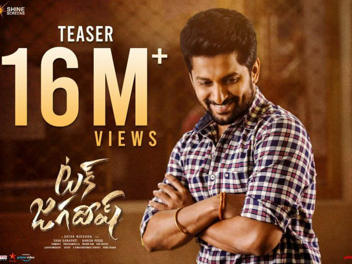 16 Million views for Tuck Jagadish Teaser