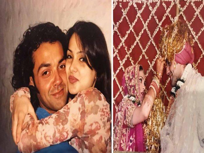 Bobby Deol's Post on 25th Wedding Anniversary