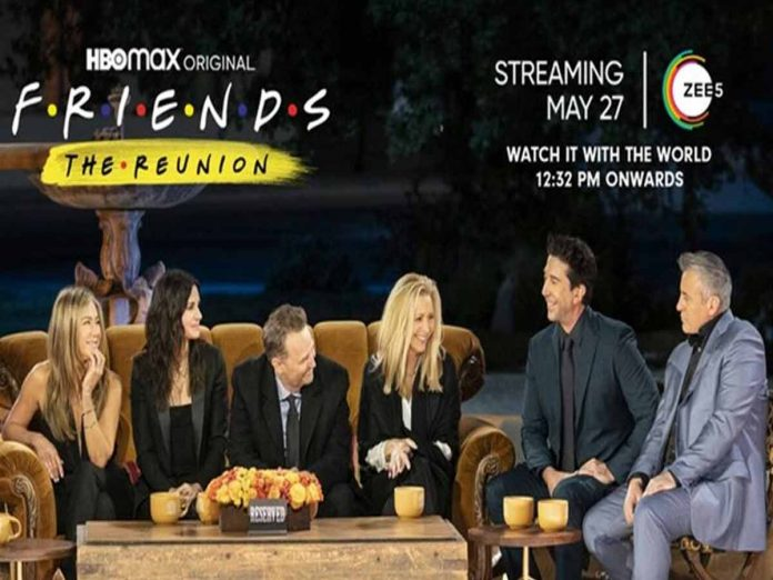 Friends: The Reunion censored in China