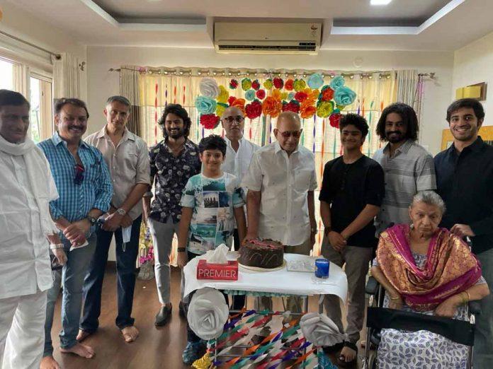 Superstar Krishna Birthday celebrations with family