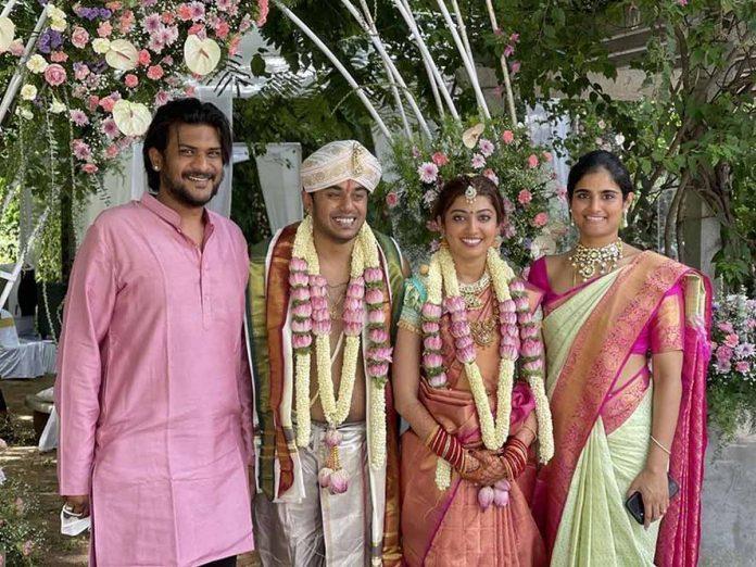 Actress Pranitha Subhash ties the knot on Sunday