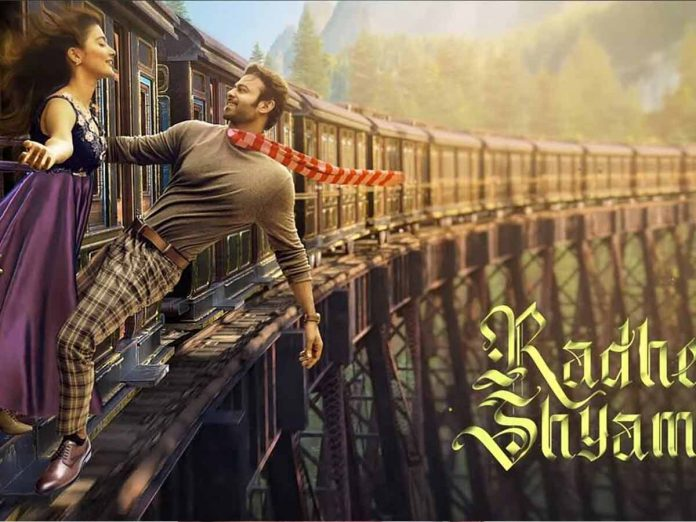 Radhe shyam promotional content to release after market gets back