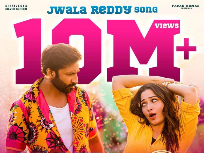 10 Million Views and 100K Likes for Jwala Reddy song from Seetimaarr