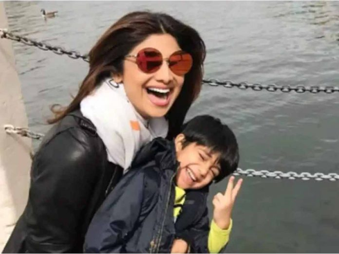 Shilpa Shetty's Son Viaan Gifts her a Power Full Video