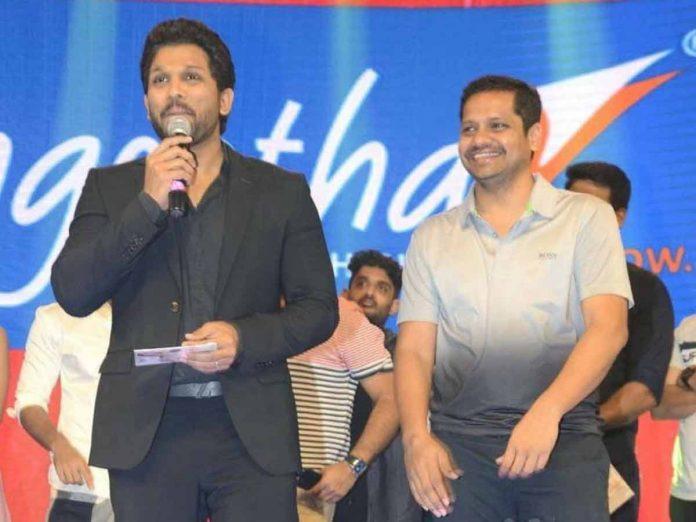 Allu Arjun Birth Day wishes to Producer Bunny Vasu
