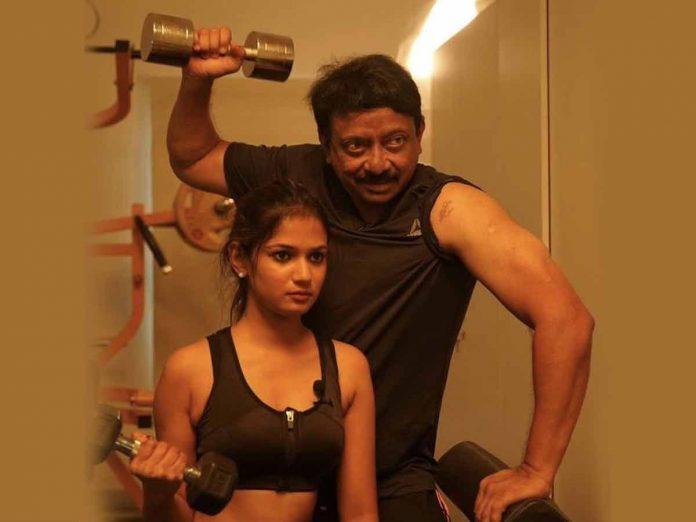 Ram Gopal Varma shared my photo with big boss fame Ariyana glory
