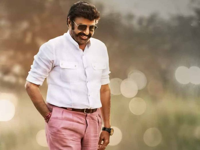 A new birthday poster will be released Tomorrow on the occasion of Nandamuri Balakrishna Birthday
