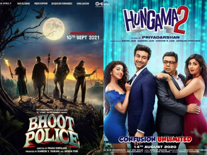 Bhoot Police rights snapped by this digital platform