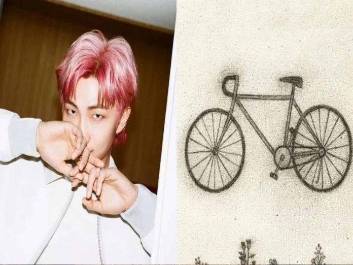 BTS leader RM releases a SURPRISE new song titled 'Bicycle'