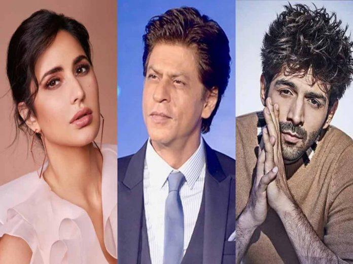 Kartik Aaryan quits SRK's production because of Kathrina