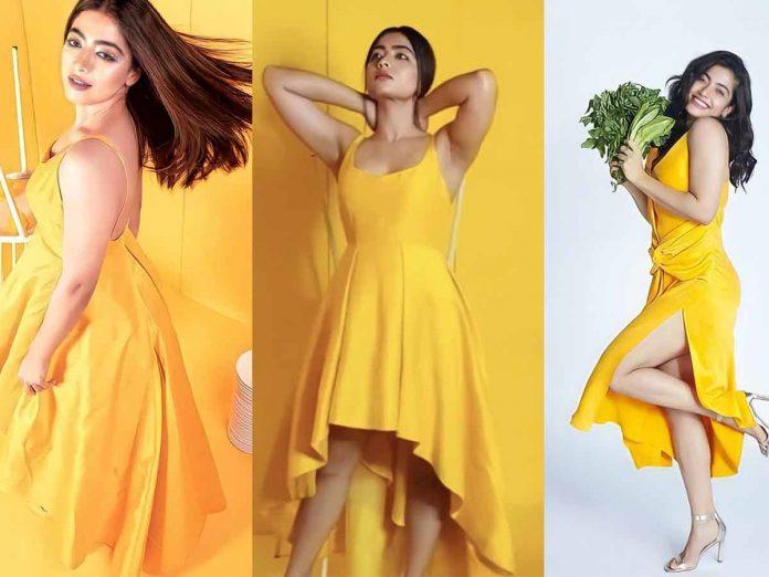 Rashmika Mandanna Glamour Pics