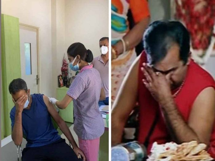Troling on Director Prashanth Neel Vaccinated Pic