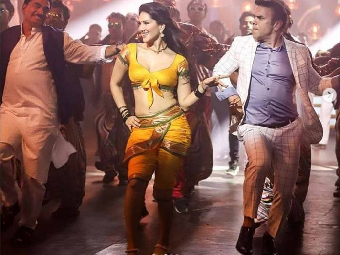 Sunny Leone Special Song Pic Goes Viral from Amdaar Nivas Movie