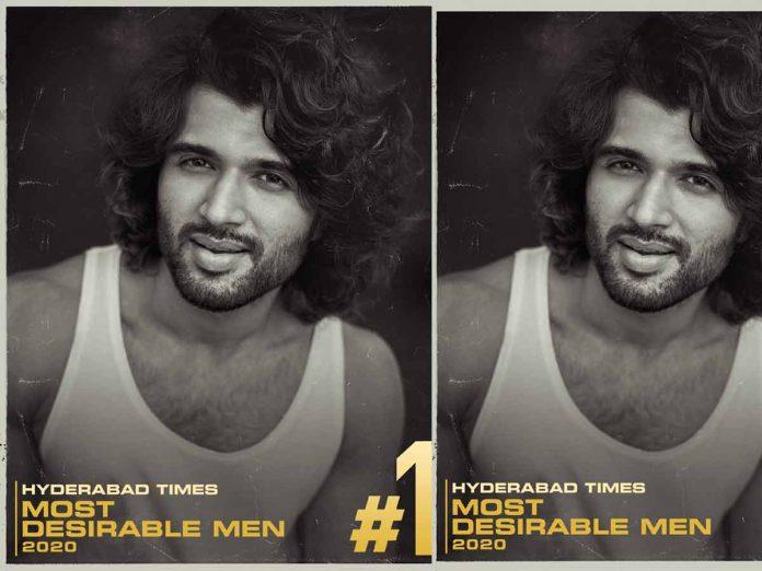 Vijay Devarakonda is Hyderabad Times Most Desirable Man 2020 for third time