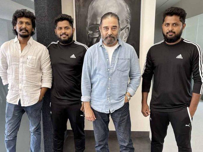 Sensational Stunt Duo Anbariv Masters onboard for Kamal haasan's Vikram