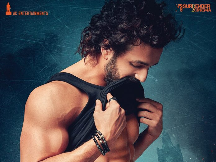 Akhil Akkineni First look from Agent Movie