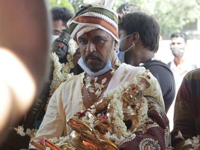 Action King Arjun built Lord Hanuman Temple