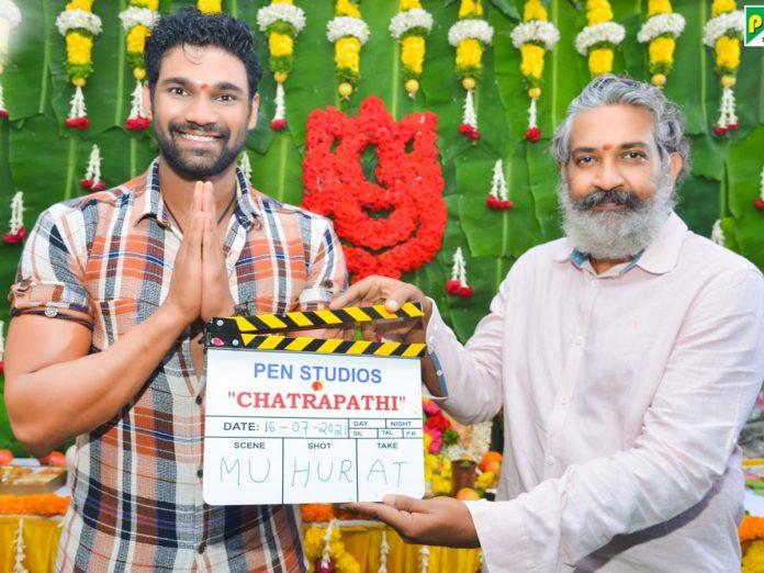 Bellamkonda Sai Sreenivas and V V Vinayak's Bollywood Film launched with a formal Pooja Ceremony