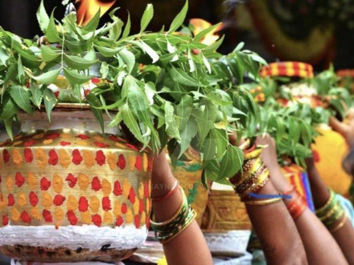 Chiranjeevi wishes to Telangana fans on Bonalu Festival