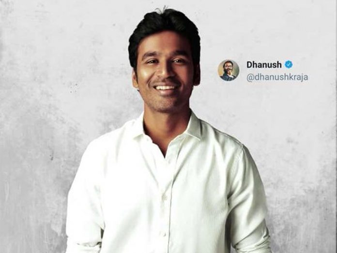Dhanush reached 10 Million Followers on twitter