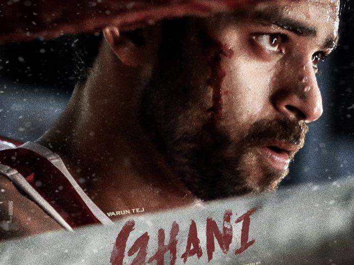 Varun Tej's Ghani final shoot schedule in progress