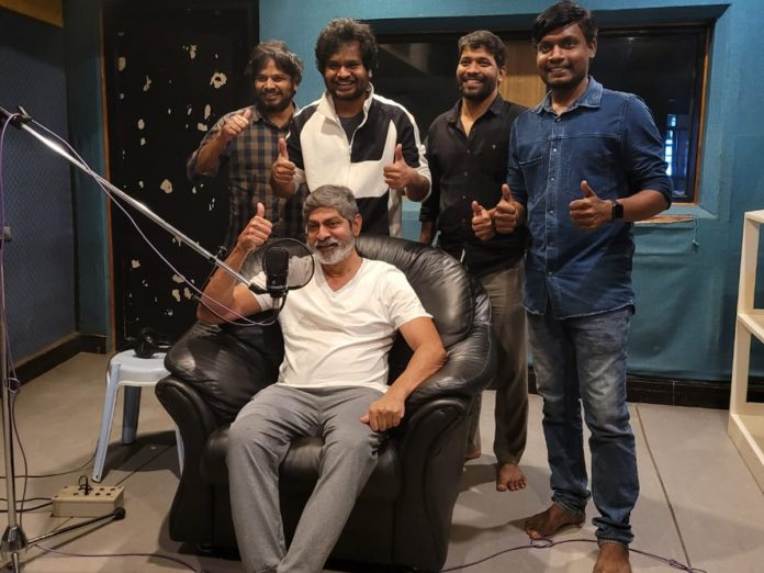 Jagapathi Babu completed dubbing for Hero