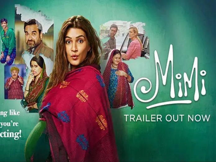 Kriti Sanon's Mimi Trailer Released