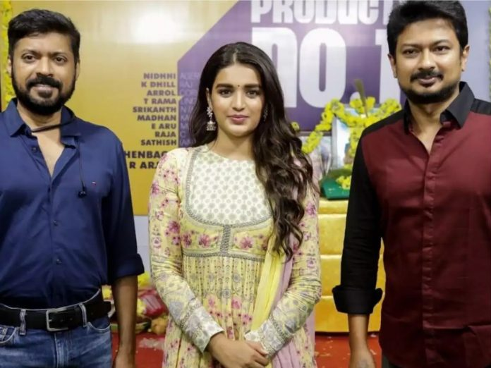 Nidhhi Agarwal to team up with Udhayanidhi Stalin's film