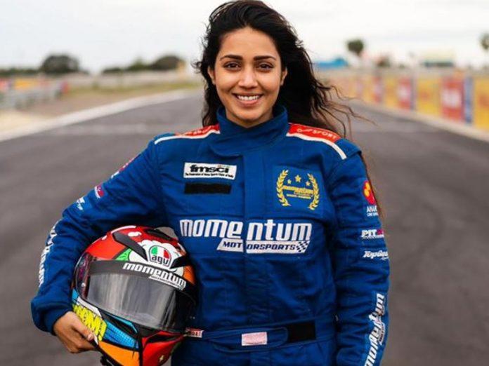 Nivetha Pethuraj becomes a certified car racer