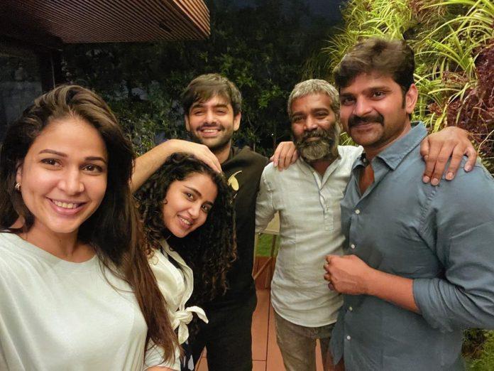Ram, Sree vishnu, Lavanya Tripati and Anupama Parameshwaran meet-up