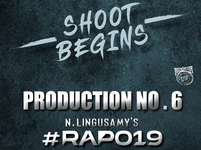 RAPO19 Shoot Begins from Today