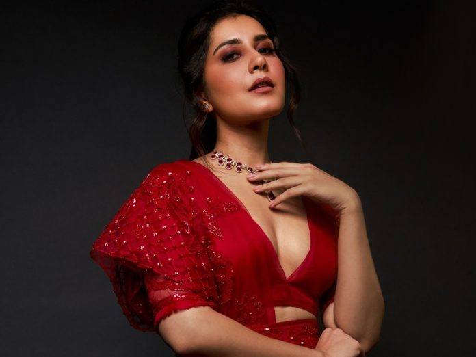 Rashi Khanna Turns Detective for Web Series