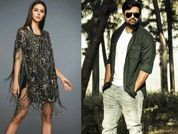 Larissa post about To Visit Hyderabad, Fans Tease Tej