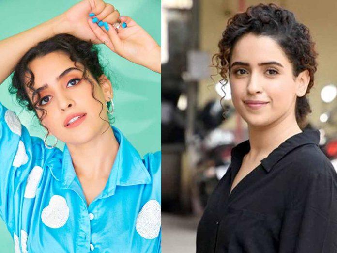 Sanya Malhotra in Hindi Remake of HIT