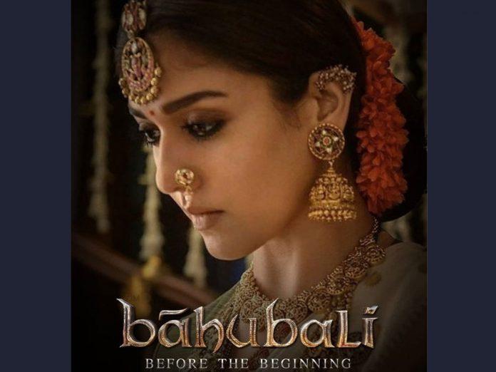 'బాహుబలి: బిఫోర్ ద బిగినింగ్' లో నయనతార!