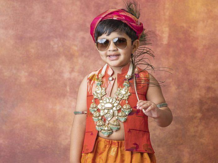 Manchu Vishnu's Son avram Turns Krishna