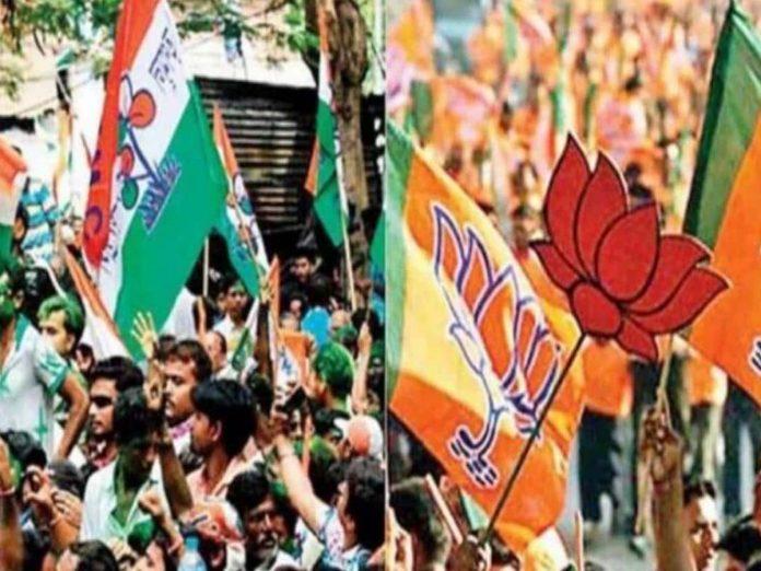 భవానీపూర్ ఉప ఎన్నికల్లో టెన్షన్...బీజేపీ, టీఎంసీ మధ్య ఘర్షణ...