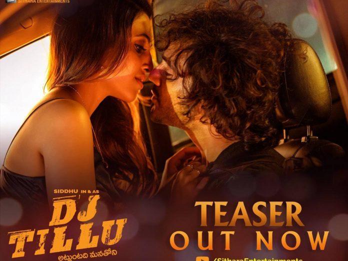 DJ Tillu Teaser Out Now