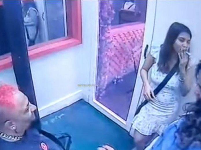 Smoking scenes of Hameeda Revealed in Bigg Boss -5