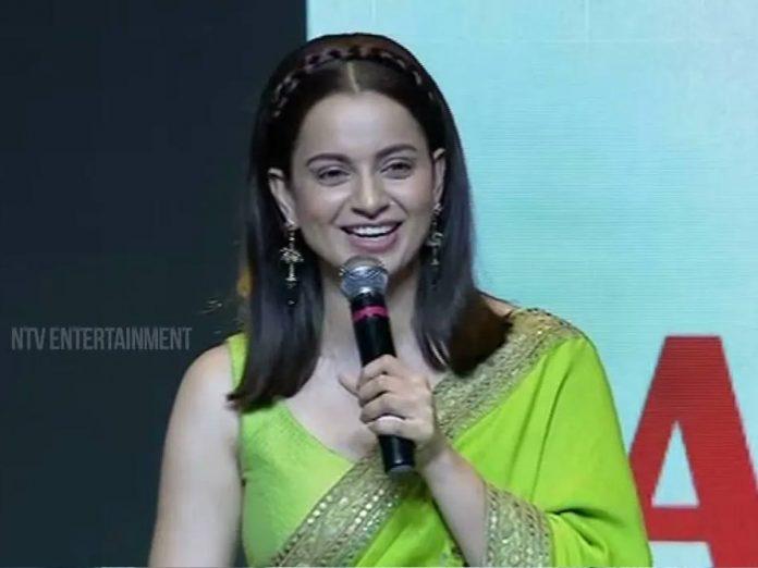 Kangana Ranaut Superb Speech At Thalaivii Pre Release Event