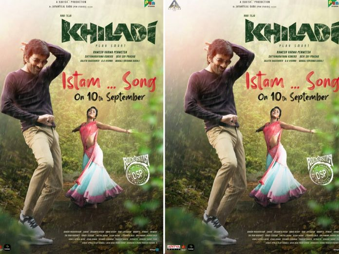 First single Istam from Khiladi arriving on Sep 10th