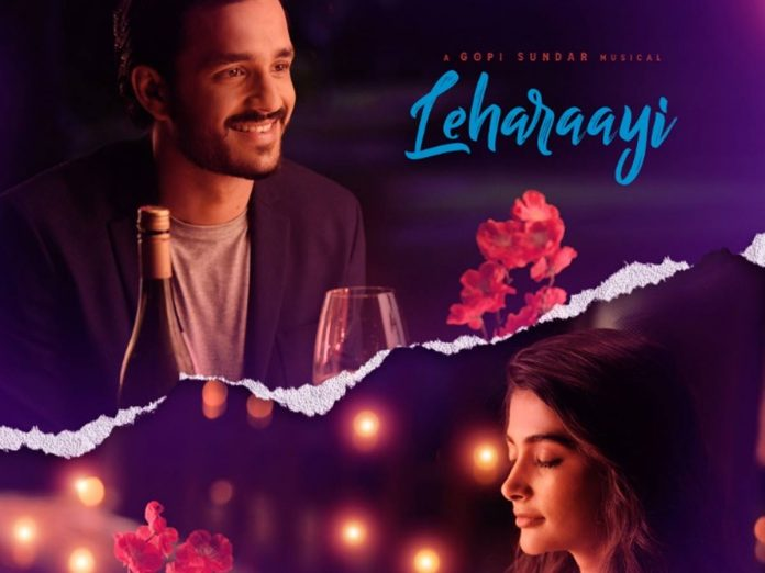 Leharaayi from Most Eligible Bachelor is out now