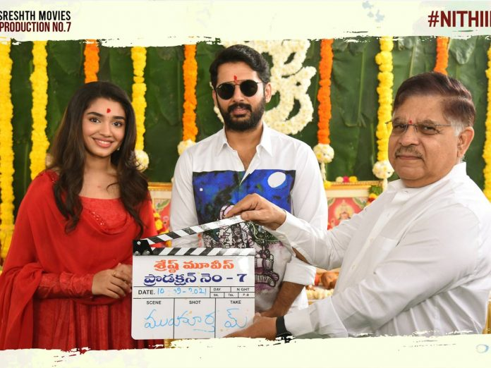 Nithiin31 launched with a formal Pooja ceremony