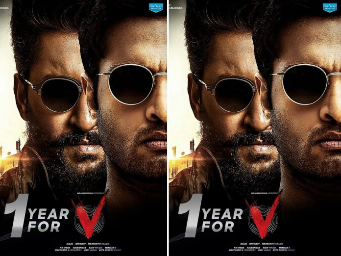1 Year for Nani and Sudheer babu's V The Movie