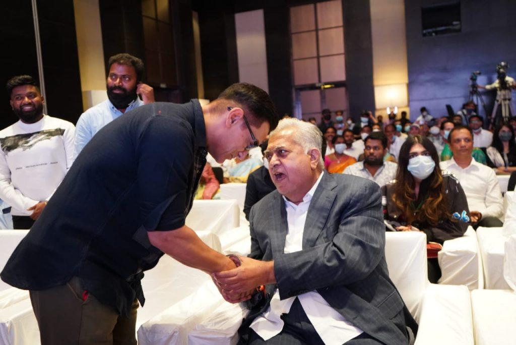 'లవ్ స్టోరీ' ప్రీ రిలీజ్ ఈవెంట్.. అమీర్ ఖాన్ పిక్స్